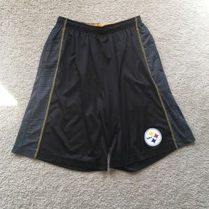 NFL Team Apparel Pittsburgh Steelers Shorts